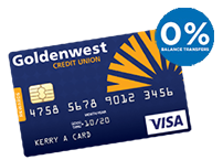 Goldenwest Rewards Credit Card