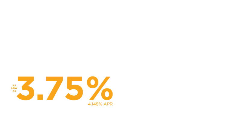 Construction Loan Special as low as 3.75%