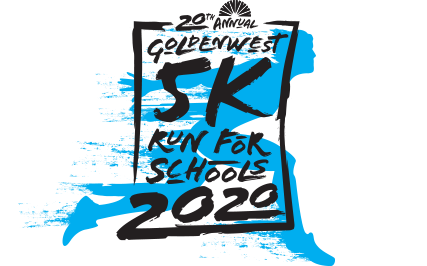 Goldenwest 5K Run for Schools logo