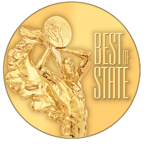 Best of State medal logo
